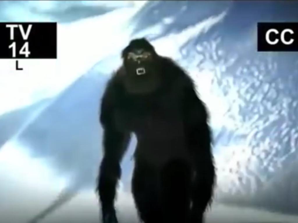 Celestial Bodies of the Hairy Gorilla-Men