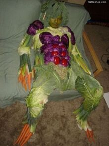 Veggie Man Passed Out