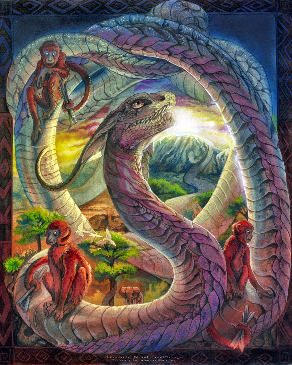 Hopi Prophecy Rainbow: FANDOM Powered By Wikia