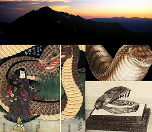 Mount tsurugi creature