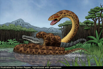 50 Foot Congo Snake   Cryptid Wiki   FANDOM powered by Wikia