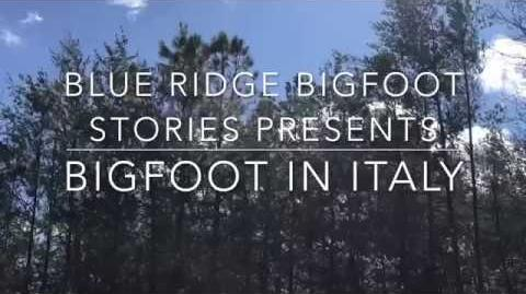 BIGFOOT IN ITALY