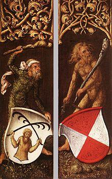 German Wildman painting