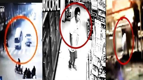 6 Strange Unexplained Happenings Caught on tape!