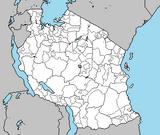 Zanzibar leopard map