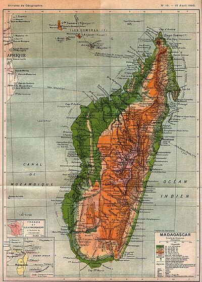 Madagascar 1895