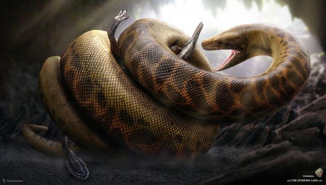 File:Titanoboa the stomping land 03 by swordlord3d-d7kuga4.jpg