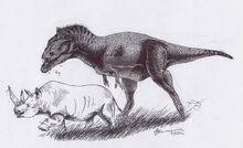 Kasai rex by xiphactinus-d8aj46g
