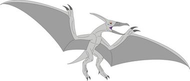 Albino pteranodon by daizua123-dag8r5r