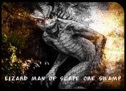 Lizard-man fin