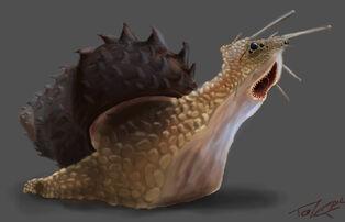 Snail monster by teonardo-d86xa75