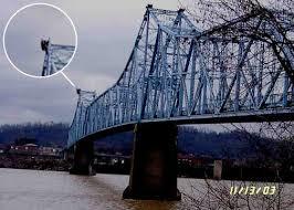 Mothman at bridge collapse