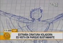 Mysterious manta man tv sketch 2
