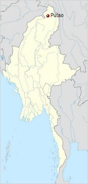 Putao map