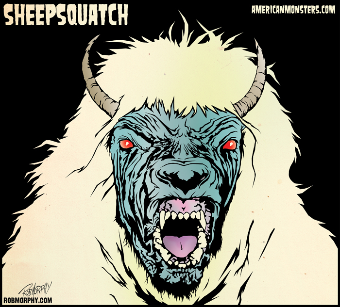 Sheepsquatch Sightings