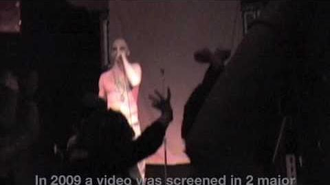 Rapper + Real Vampires Attack Crowd at local Concert REAL FOOTAGE