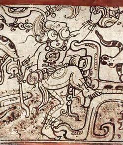 Maya God Chaac