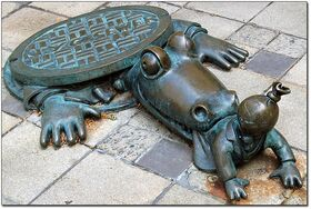Sewer-alligator