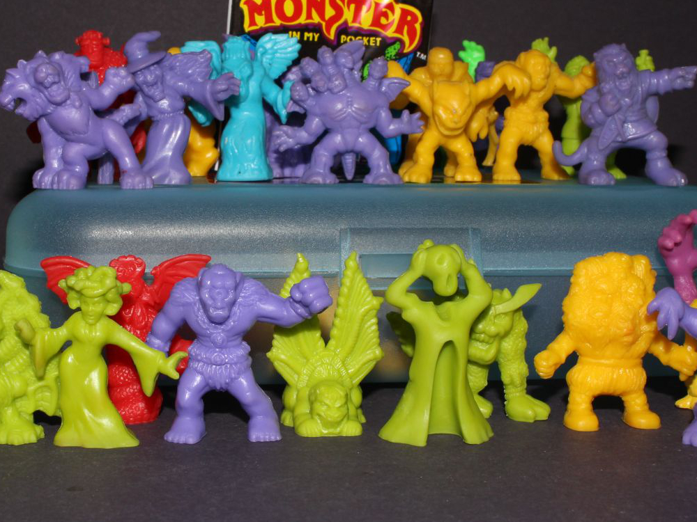 Monster in my pocket toys from the 80s