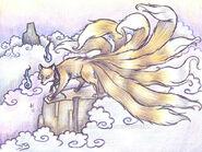 Nine tails Fox (Kitsune)