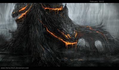 Man eating tree by heliacwolf-d5wf2i1