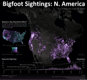 Bigfoot Sightings