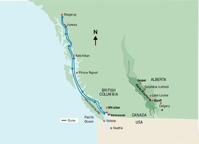 Canada-alaska-cruise-map