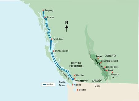Image - Canada-alaska-cruise-map.jpg   Cryptid Wiki   FANDOM powered ...