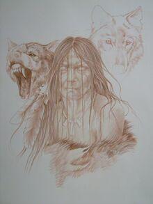 Sketch of a Skin-Walker