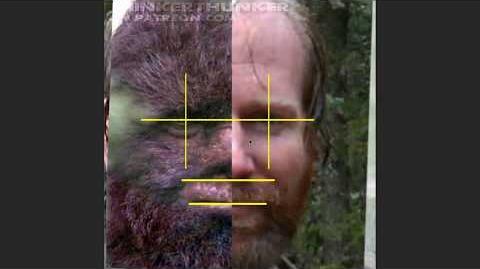 Bigfoot vs Bigfoot - Todd Standing vs Patterson footage (ThinkerThunker)