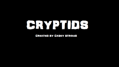 Cryptids Title Card