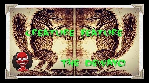 Creature Feature The Dewayo or Hexenwolf