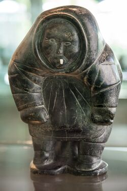 Inuit-sculpture