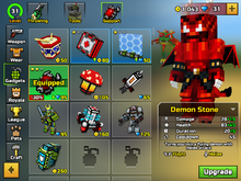 Demon Stone in Pixel Gun 3D