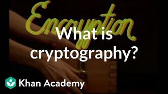 What is cryptography? Journey into cryptography Computer Science Khan Academy
