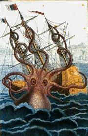 180px-Colossal octopus by Pierre Denys de Montfort