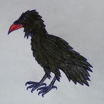 The Great Raven Drawing 1