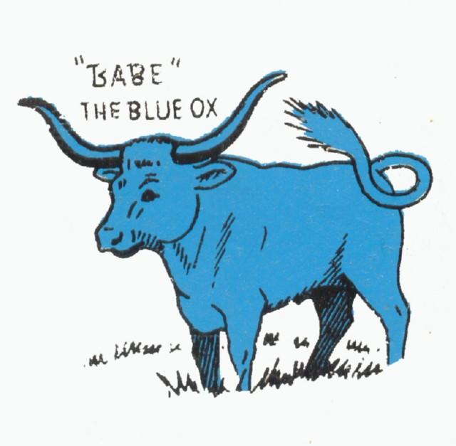 babe the blue ox에 대한 이미지 검색결과