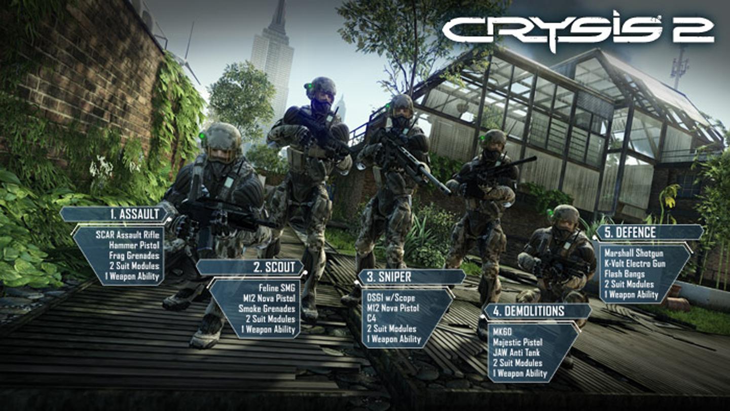 Crysis 2 Multiplayer Crysis Wiki Fandom Powered By Wikia