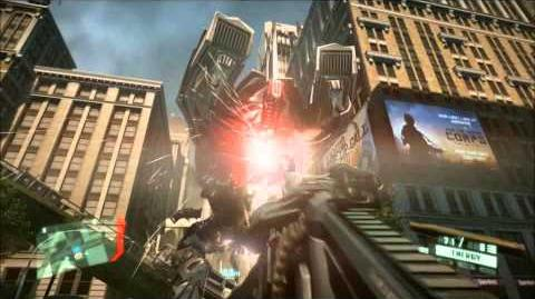 Crysis 2 Mini Boss Fight