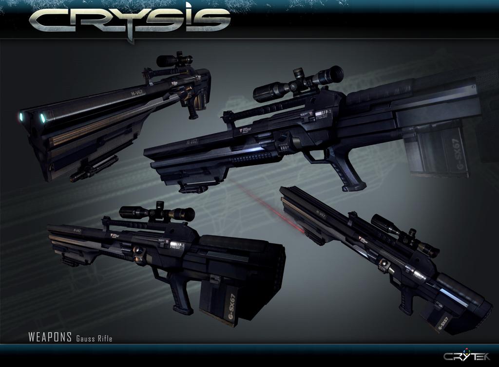 Gauss Rifle | Crysis Wiki | FANDOM powered by Wikia