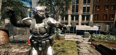 Crysis 2 plaza