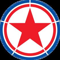 Roundel of North Korea