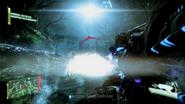 Cheph Plasma Shot Impacting Enemy