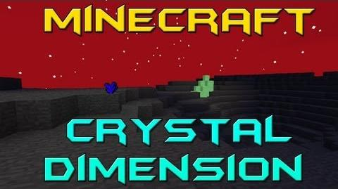 Minecraft Mod Review - Crystal Dimension Mod 1.3