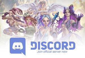 Discord server web