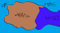 Mesands map