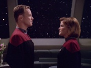 Tom and Captain Janeway