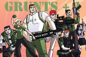 Grunts pluss one by Drunkfu