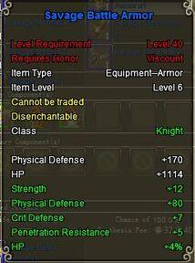 Knight Sav armor blue